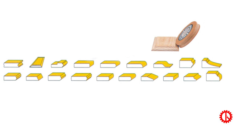Máy chà nhám cạnh biên dạng profile HR-S2W1 | Quốc Duy