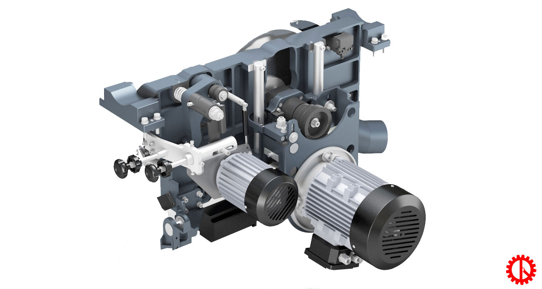 Động cơ máy cưa bàn trượt thông minh cnc S-32 CNC | Quốc Duy