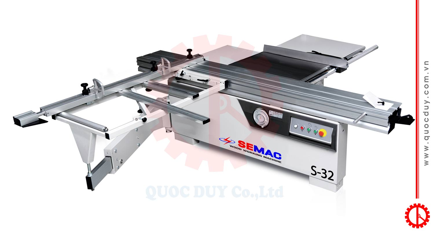 SLIDING TABLE SAW FOR MDF | QUOC DUY