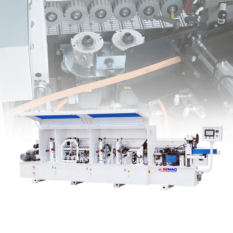 Automatic edge banding machine
