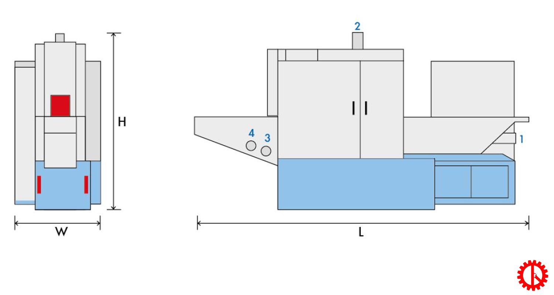 Mô phỏng máy cưa lọng tấm nhiều lưỡi FR-200 | Quốc Duy