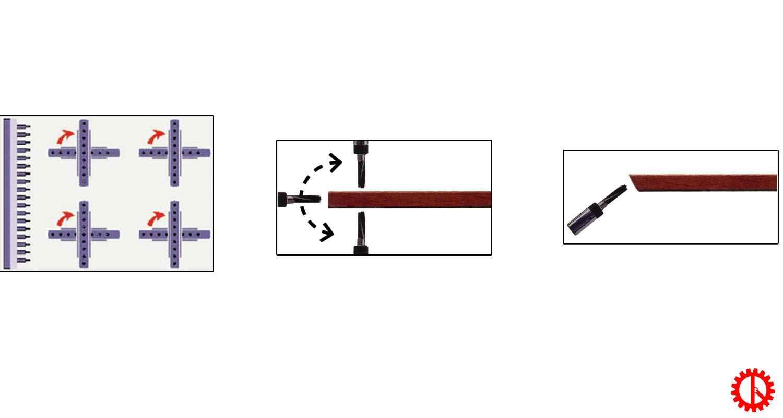 Quy trình khoan máy khoan ốc cam liên kết 42 mũi