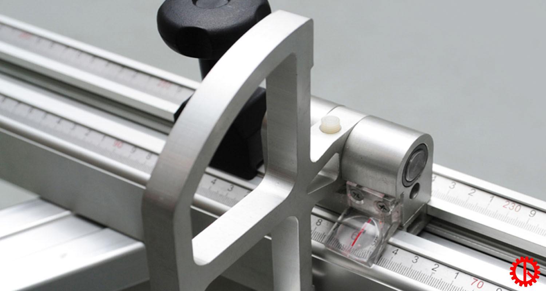 Thước đo máy cưa bàn trượt thông minh cnc S-32 CNC | Quốc Duy
