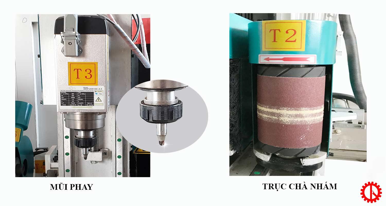 Chi tiết SM TJ 1220 máy tiện tự động đa chức năng   Quốc Duy