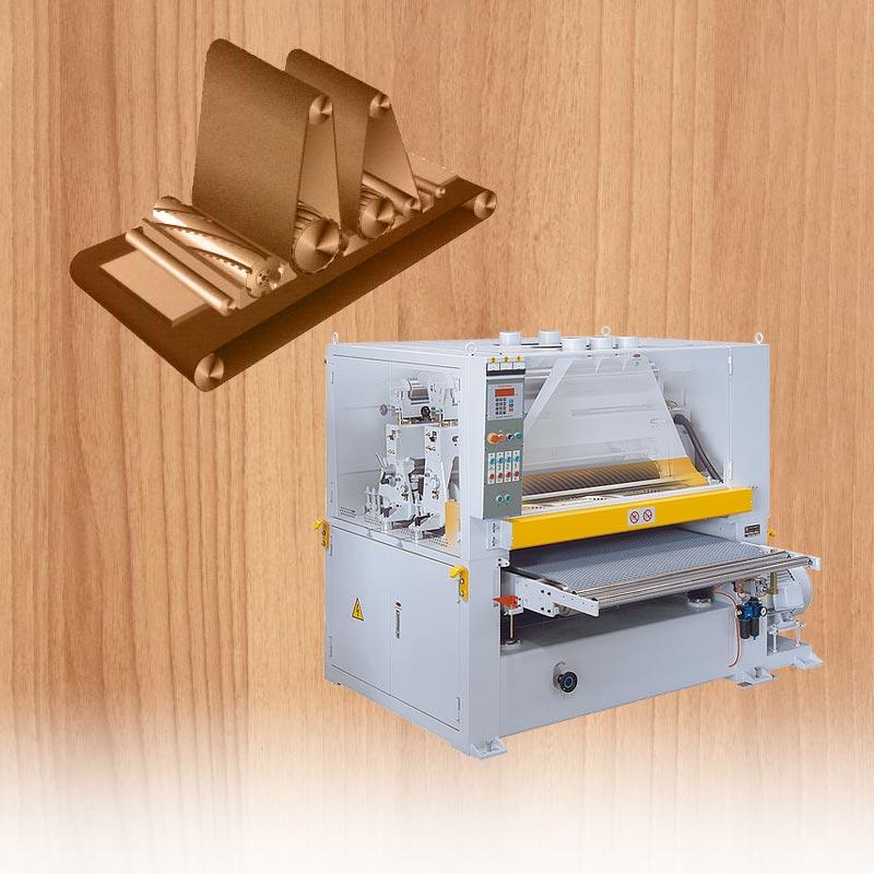 Milling sanding machine