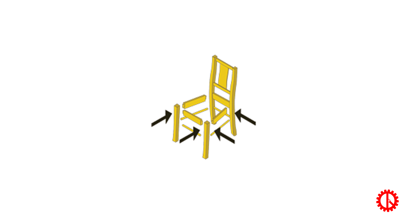 Sản phẩm máy ép chân ghế