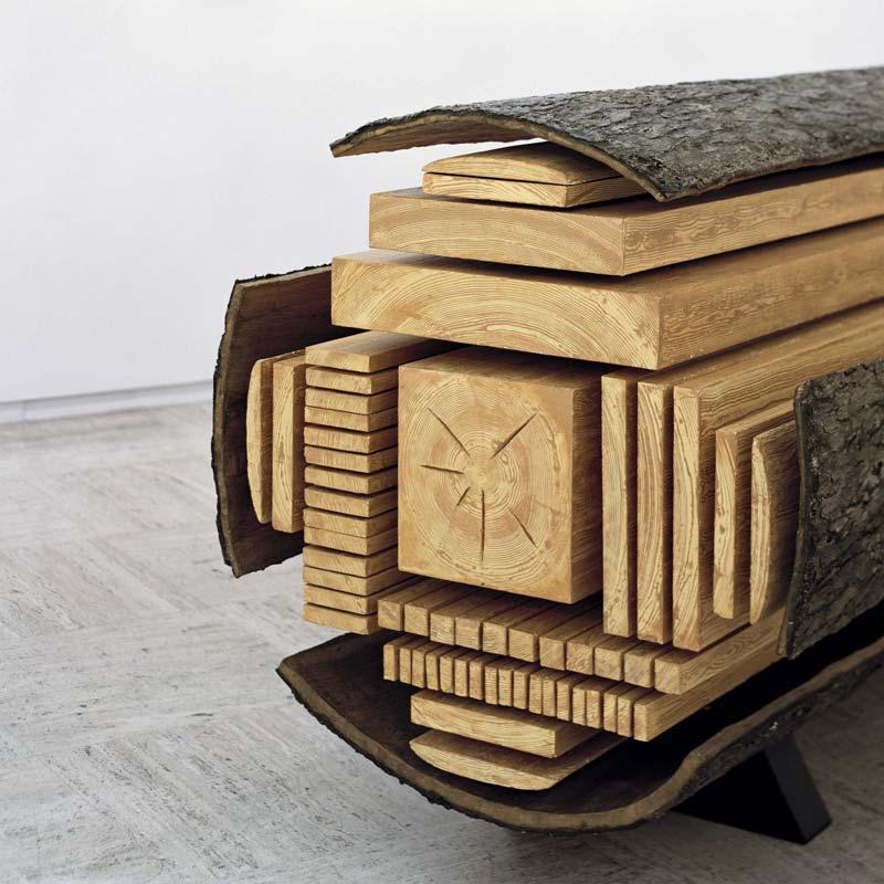 Log multi rip saw system