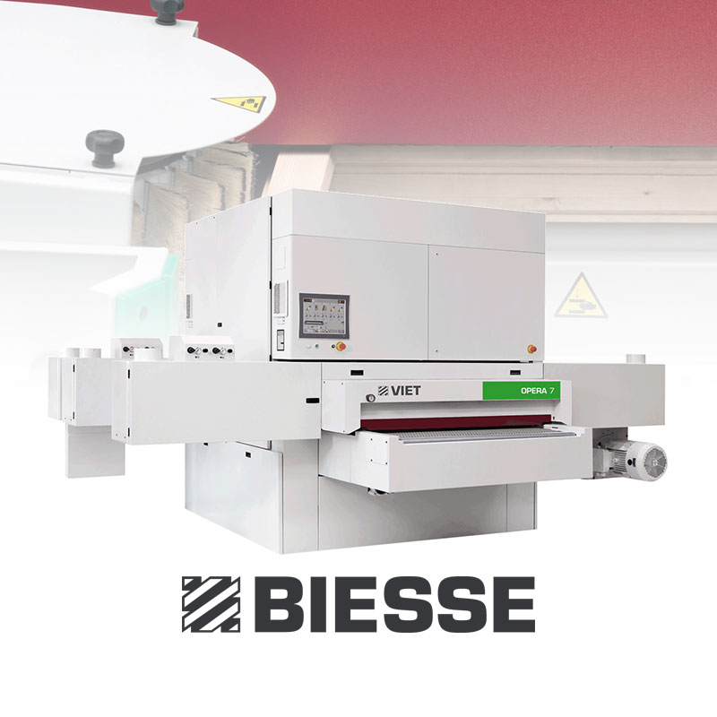 Biesse sanding machine