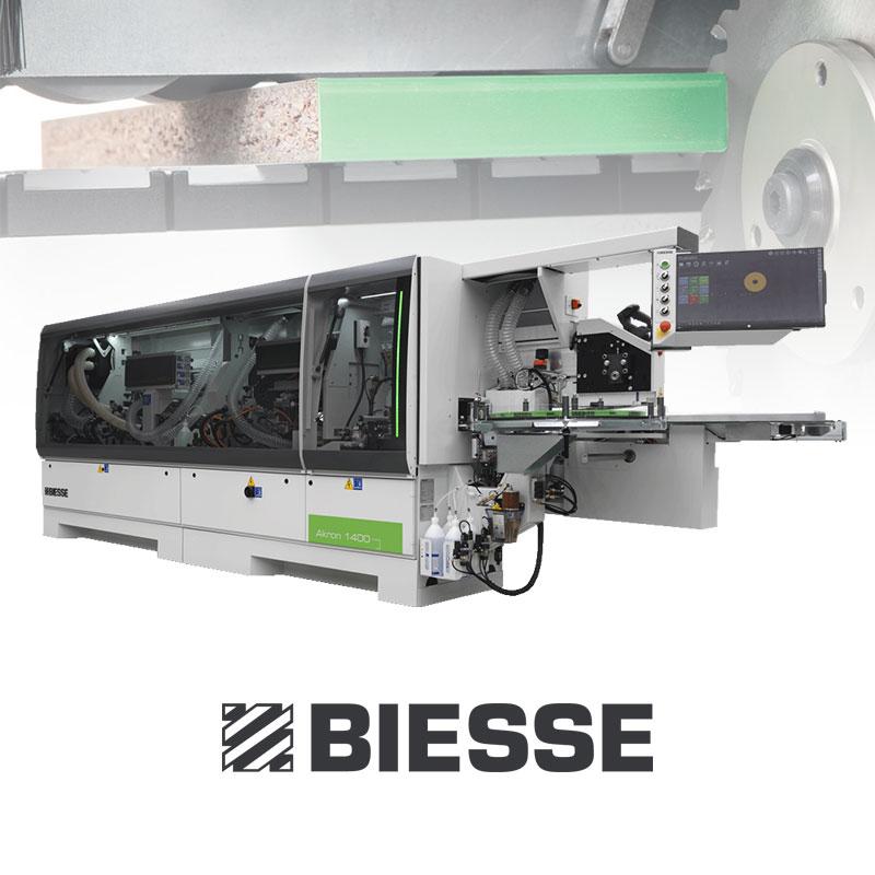 Biesse edge banding machine