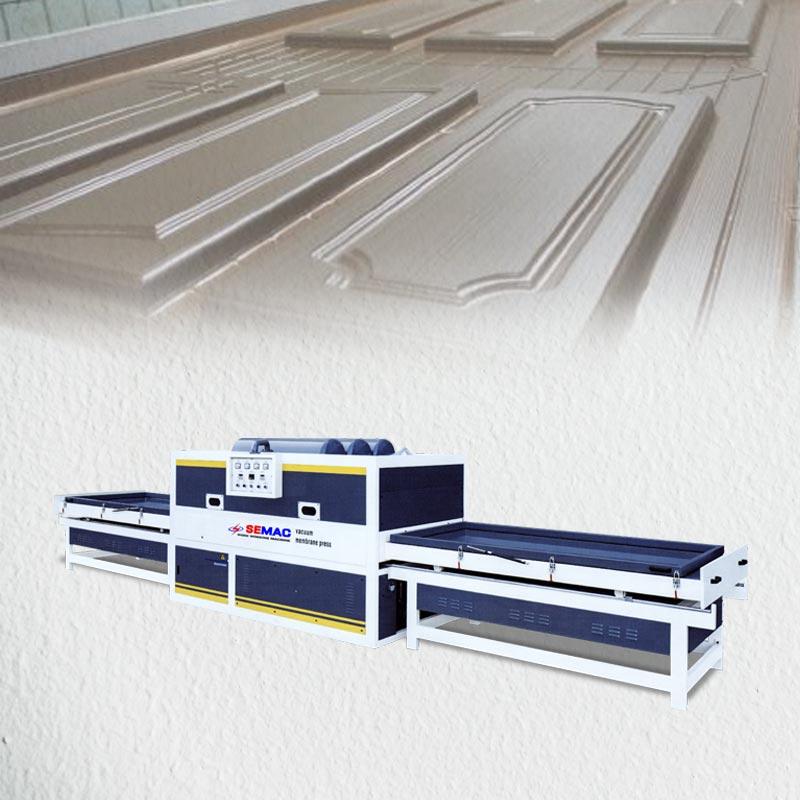 Veneer membrane press