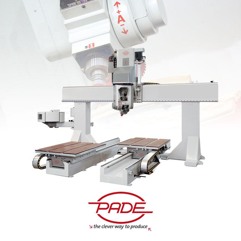 PADE CNC machine