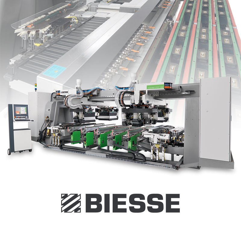 Biesse drilling machine