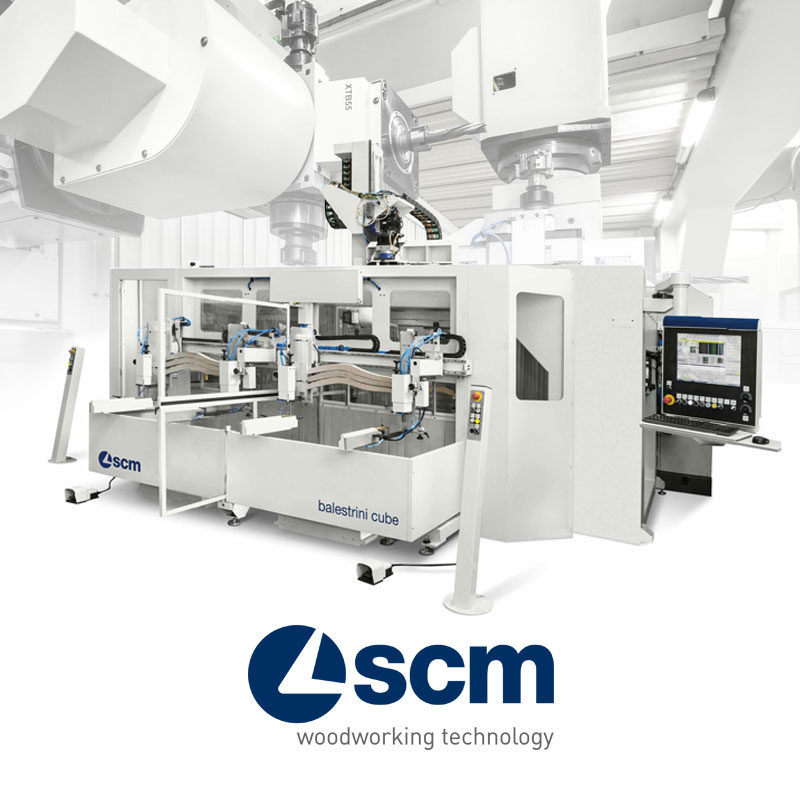 SCM CNC machine