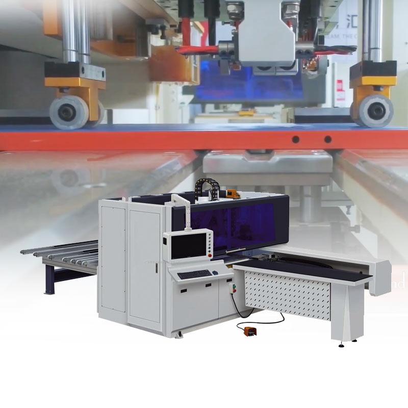 CNC plank drilling machine