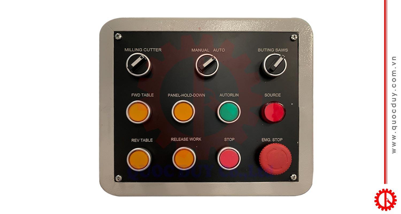 bảng điều khiển máy phay finger | quốc duy
