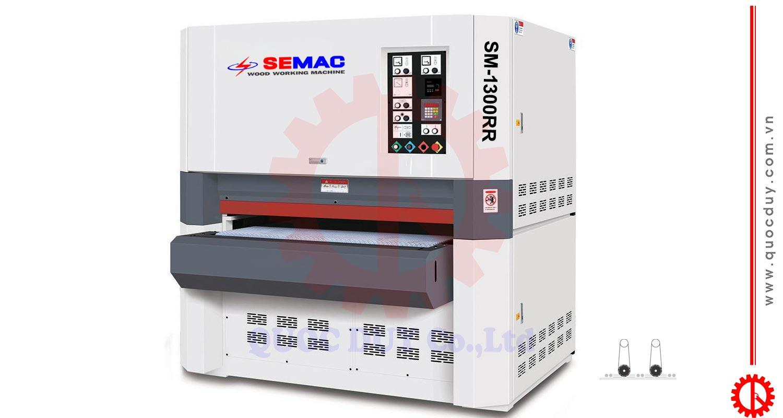 SM-1300RR bảng điều khiển nút nhấn máy chà nhám 2 trục | quốc duy