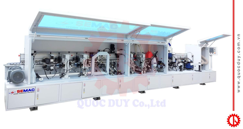 Automatic edge banding machine Michael 4CR   Quoc Duy