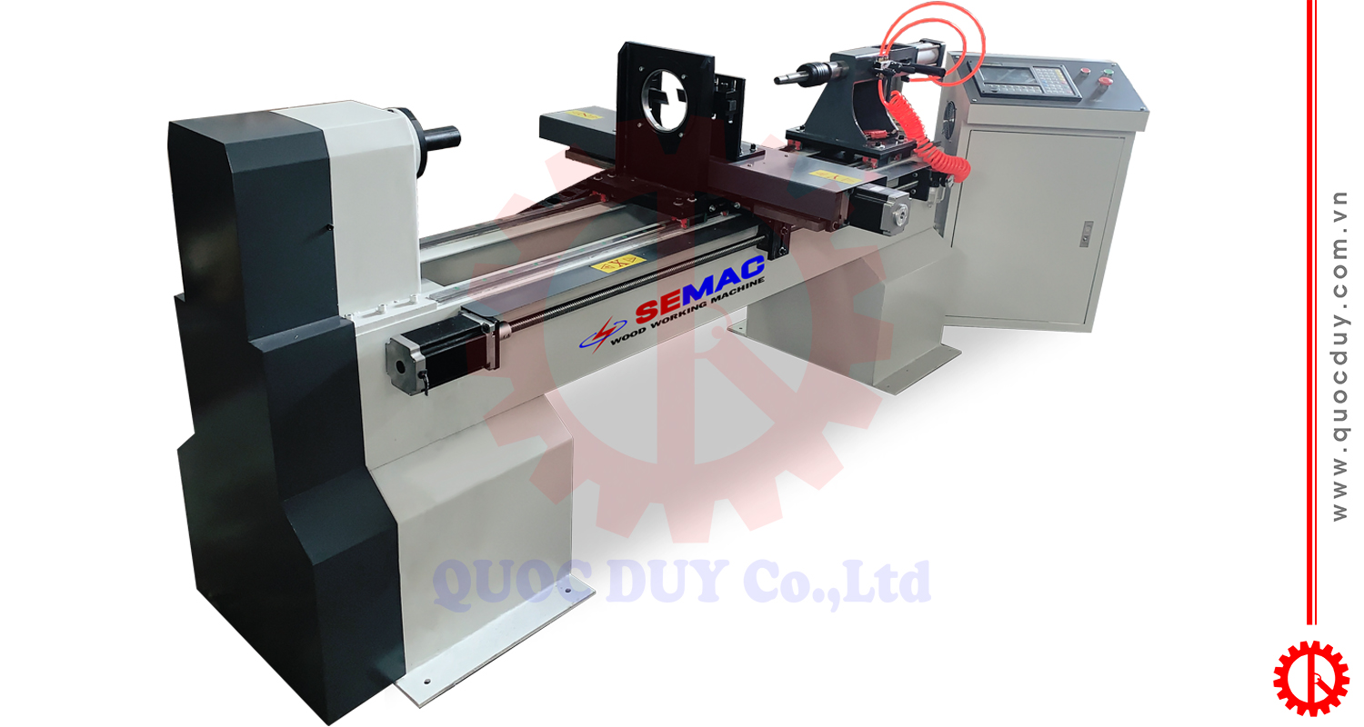 automatic wood lathe machine cw 1020 | Quoc Duy