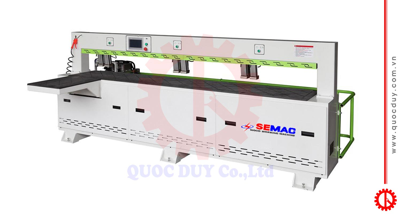 CNC DOUBLE HEAD HORIZONTAL DRILLING MACHINE SMCK 3000/2   QUOC DUY