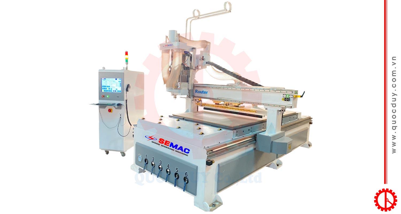 CNC ROUTER MACHINE – SMYM-1325R1B | Quoc Duy