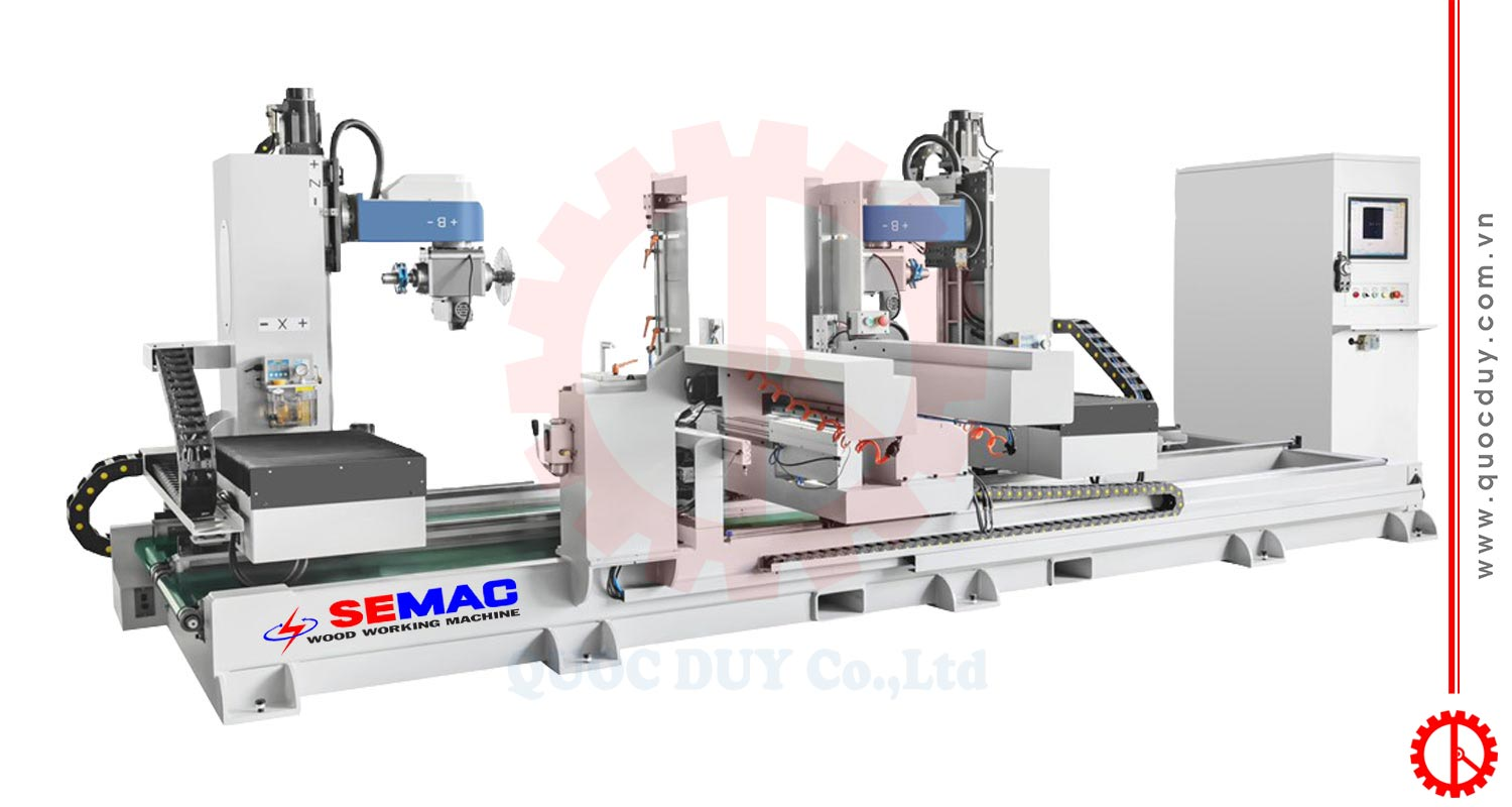 5 AXIS CNC MORTISING AND TENONING MACHINE