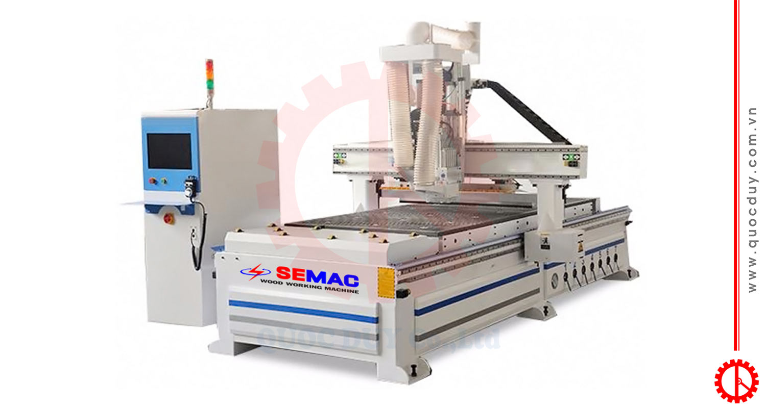 CNC router milling cutting SMYM -1825R1BP | Quoc Duy