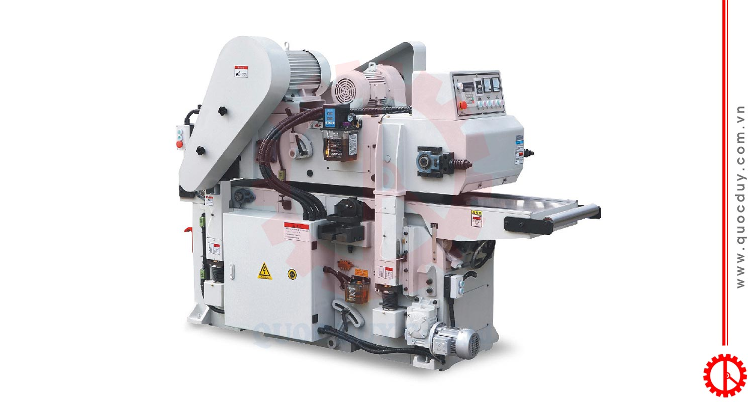 AUTOMATIC-DOUBLE-SIDED-PLANING-MACHINE | Quoc Duy